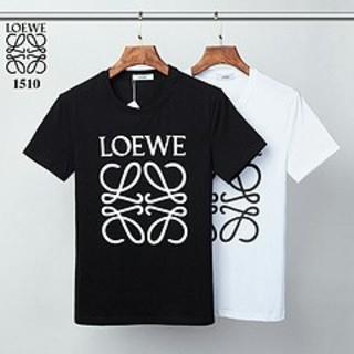 LOEWE - LOEWE 1510S  メンズ丸みえりTシャツ