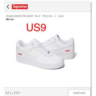 Supreme - US9 27.0 supreme   Nike エアフォース1  AF1