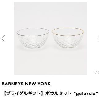バーニーズニューヨーク(BARNEYS NEW YORK)の新品未使用 BANEYS NEW YORK  ボウルセット(食器)