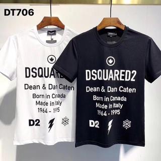 DSQUARED2 - DSQUARED2 Tシャツ ディースクエアード 丸襟