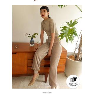 BEAUTY&YOUTH UNITED ARROWS - <DODO FOR AEWEN MATOPH >ベルベット パンツ