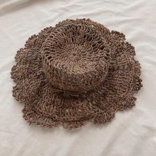 カオリノモリ(カオリノモリ)の麦わら帽子(麦わら帽子/ストローハット)