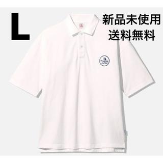 ジーユー(GU)のGU × STUDIO SEVEN ビッグポロ L WHITE(ポロシャツ)