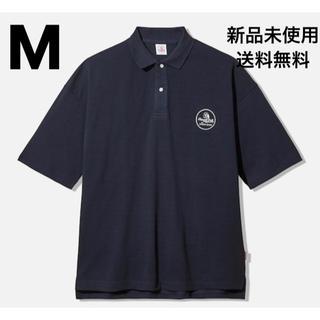 ジーユー(GU)のGU × STUDIO SEVEN ビッグポロ M NAVY(ポロシャツ)