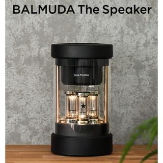 バルミューダ(BALMUDA)の新品 バルミューダ BALMUDA ワイヤレススピーカー M01A-BK(スピーカー)