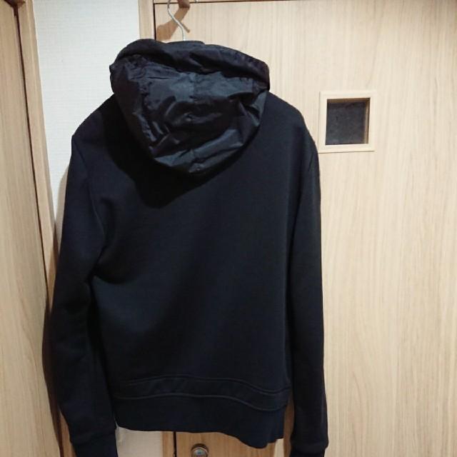MONCLER(モンクレール)のモンクレール  MONCLER ナイロンコットン ハイブリッドパーカー タグ付 メンズのジャケット/アウター(ナイロンジャケット)の商品写真
