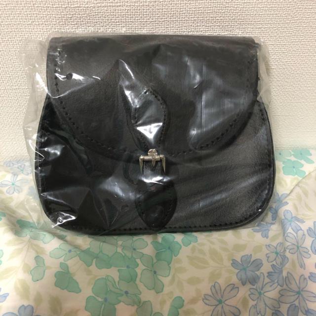 Dr.Martens(ドクターマーチン)のマイクロサドルバッグ 黒 レディースのバッグ(ショルダーバッグ)の商品写真