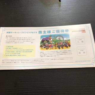 鈴鹿サーキット・ツインリンクもてぎ 株主ご優待券(遊園地/テーマパーク)