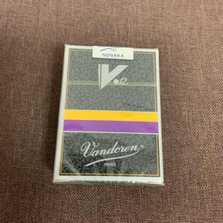 バンドレン クラリネットリード V12  3番 旧パッケージ 2箱セット(クラリネット)