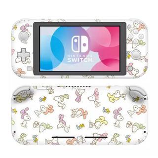 Nintendo Switch - 〖新品〗スヌーピー/SNOOPY ① 任天堂Switch 保護スキンシール