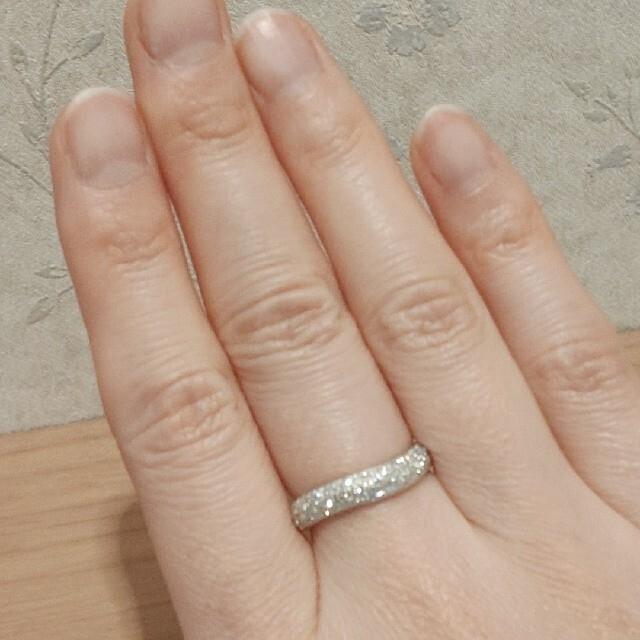 Vendome Aoyama(ヴァンドームアオヤマ)のヴァンドーム青山 Pt950 ダイヤ0.45ct パヴェリング レディースのアクセサリー(リング(指輪))の商品写真