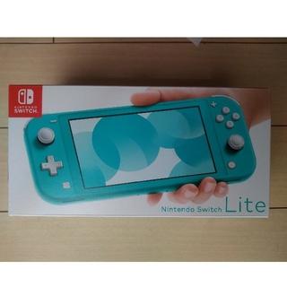 Nintendo Switch - 即発送 Nintendo Switch  LITE ターコイズ 新品未開封