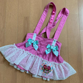 EARTHMAGIC - アースマジック  ジャンスカ スカート 90cm ピンク