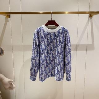 ディオール(Dior)の☆新作☆Dior Oblique  ウール  ジャガード  セーター(ニット/セーター)