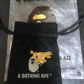 アベイシングエイプ(A BATHING APE)のA BATHING APE STA EARRING 正規品(その他)