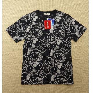 スヌーピー(SNOOPY)のT-0073 スヌーピー Tシャツ Sサイズ(Tシャツ(半袖/袖なし))