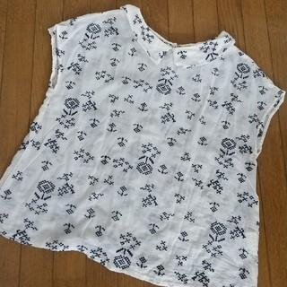 チャイルドウーマン(CHILD WOMAN)のchild woman 刺繍ブラウス(シャツ/ブラウス(半袖/袖なし))