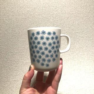 marimekko - マリメッコ プケッティ 水色 マグ
