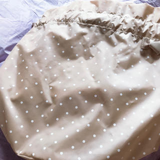 Drawer - セツコサジテール インナー巾着 ベージュドット