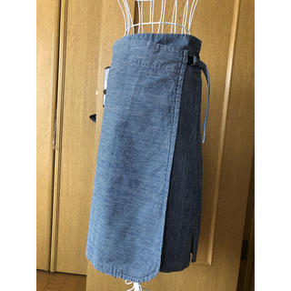 45rpm - パラスパレス 巻きスカート ストライプ