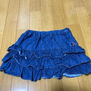 ダブルビー(DOUBLE.B)のスカート 120  ダブルB(スカート)
