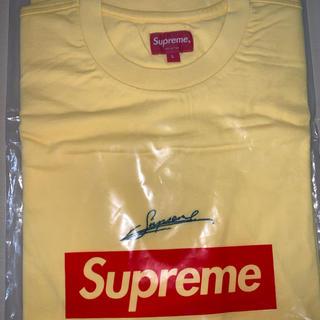 Supreme - Supreme Signature S/S Top【Lサイズ】