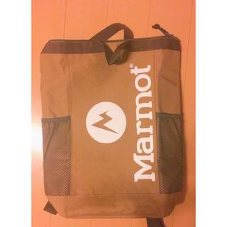 マーモット(MARMOT)のMarmot 保冷バッグ 付録 マーモット(バッグパック/リュック)