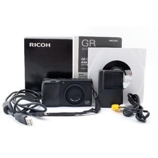 リコー(RICOH)のRicoh GR Digital II 10.1MP コンパクトデジタルカメラ(コンパクトデジタルカメラ)