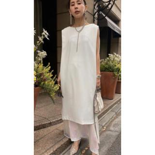 Ameri VINTAGE - AURORA LAYERED DRESS Ameri 20SS 完売品 ホワイト