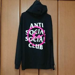 アンチ(ANTI)のAnti social social club×fragment コラボパーカー(パーカー)