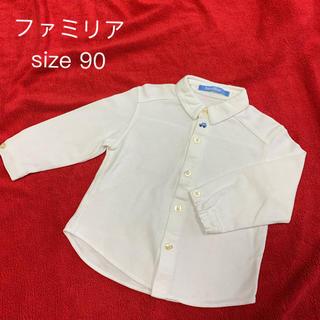 ファミリア(familiar)のファミリア 長袖シャツ 車刺繍(Tシャツ/カットソー)