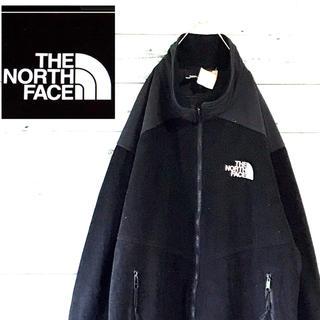 ザノースフェイス(THE NORTH FACE)の90s 古着ザノースフェイス ナイロンxフリースジャケットWINDSTOPPER(ブルゾン)
