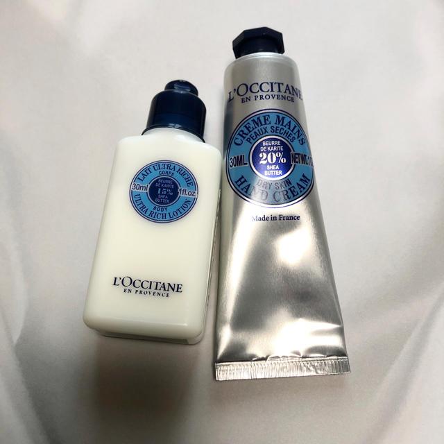 L'OCCITANE(ロクシタン)のロクシタン シア セット コスメ/美容のボディケア(ハンドクリーム)の商品写真
