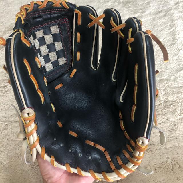 久保田スラッガー(クボタスラッガー)の久保田スラッガー 軟式 内野手用グローブ スポーツ/アウトドアの野球(グローブ)の商品写真