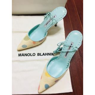 マノロブラニク(MANOLO BLAHNIK)のマノロブラニク パンプス サンダル 361/2(サンダル)