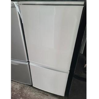 SHARP - SHARP 137L 2ドア冷蔵庫 💍2015年製💍 ホワイト