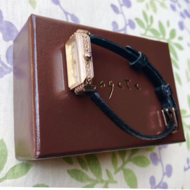 agete(アガット)ののんちゃん 様 😊 agete   ㉖ 腕時計・稼動品✨ レディースのファッション小物(腕時計)の商品写真