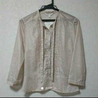 アルファキュービック(ALPHA CUBIC)の定価9240 4 LL アルファキュービック ブラウス ピンクジャケット シャツ(シャツ/ブラウス(長袖/七分))