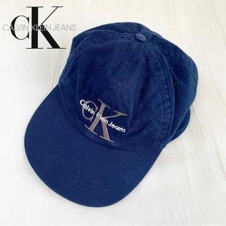 Calvin Klein - Calvin Klein Jeans ロゴ キャップ 90s