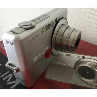 カシオ(CASIO)の中古即日発送 CASIO EXILIM EX-Z700 シルバー デジカメ(コンパクトデジタルカメラ)