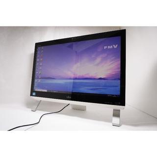フジツウ(富士通)の【新品SSD換装済】Fujitsu FH56/KD 高速起動!(デスクトップ型PC)