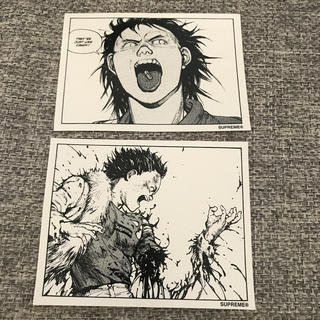 シュプリーム(Supreme)の17AW Supreme AKIRA Sticker ステッカー 2枚 セット(その他)