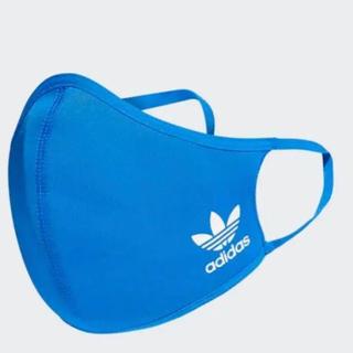 アディダス(adidas)のadidas フェイス 大人サイズ 1枚 ブルー(その他)