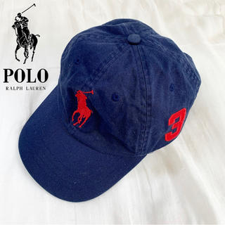 POLO RALPH LAUREN - POLO RALPH LAUREN ロゴ キャップ 90s