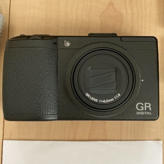 リコー(RICOH)のリコーデジタルカメラ GR DIGITAL Ⅲ(コンパクトデジタルカメラ)