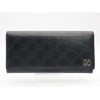 Gucci - ●《GUC◑CI/グッチシマ 二つ折り長財布》