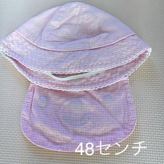 ニシマツヤ(西松屋)のベビー帽子 48センチ (帽子)