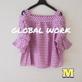 グローバルワーク(GLOBAL WORK)のグローバルワーク オフショル ブラウス(シャツ/ブラウス(半袖/袖なし))