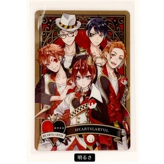 バンダイ(BANDAI)のツイステ メタルカード ハーツラピュル 1枚(その他)