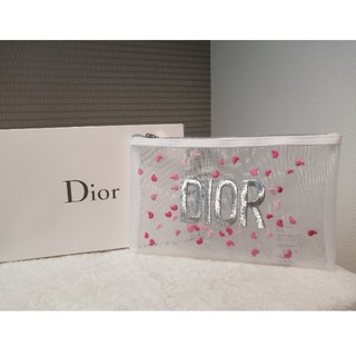 Dior - ディオールポーチ ディオールメッシュポーチ ディオール限定ポーチ